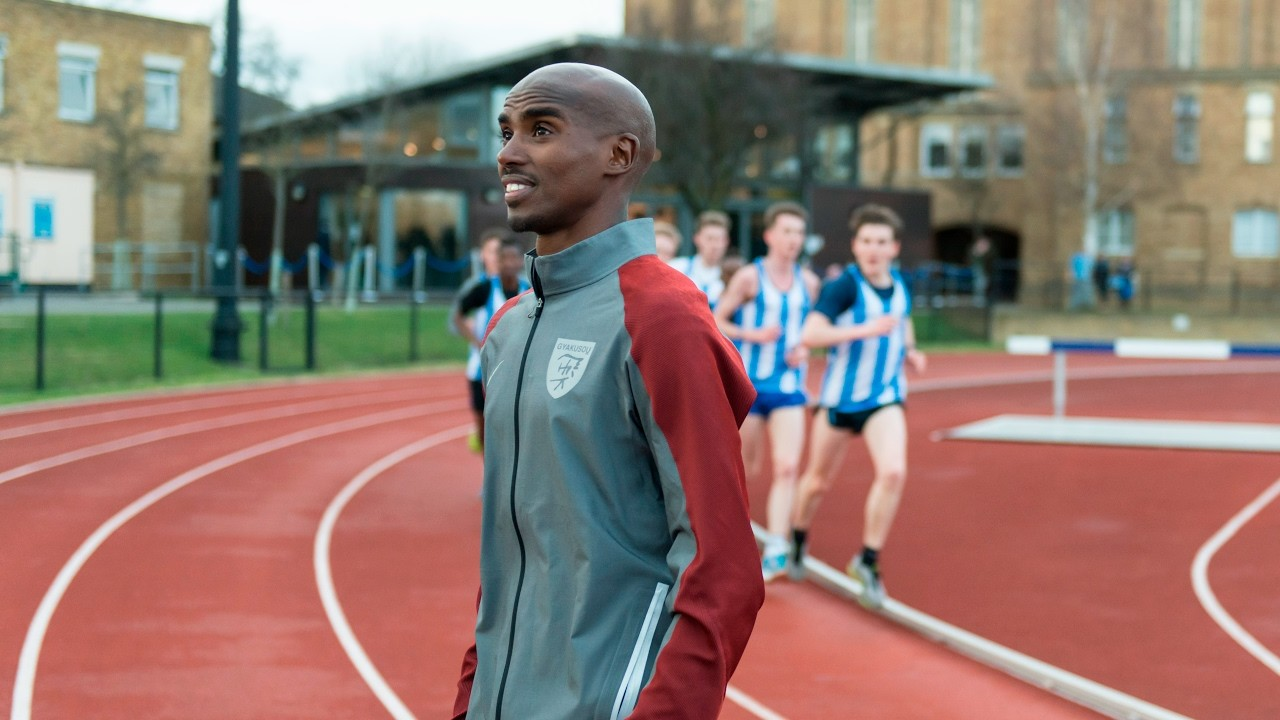 Sir Mo Farah says he is considering returning to the track ahead of the 2020 Tokyo Olympics