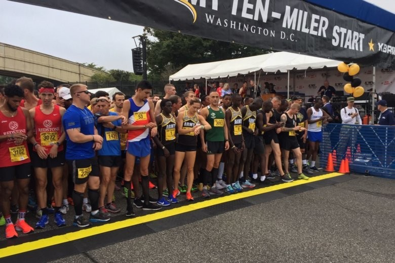 Nearly 35,000 runners participated in the 34th annual Army Ten Miler this morning