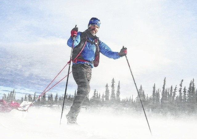 Jan Kriska took on the 1,000 mile Alaskan Iditarod Race in the extreme arctic cold and snow twice