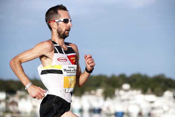 Mike Morgan wins the 18th Annual Virginia Beach half Marathon