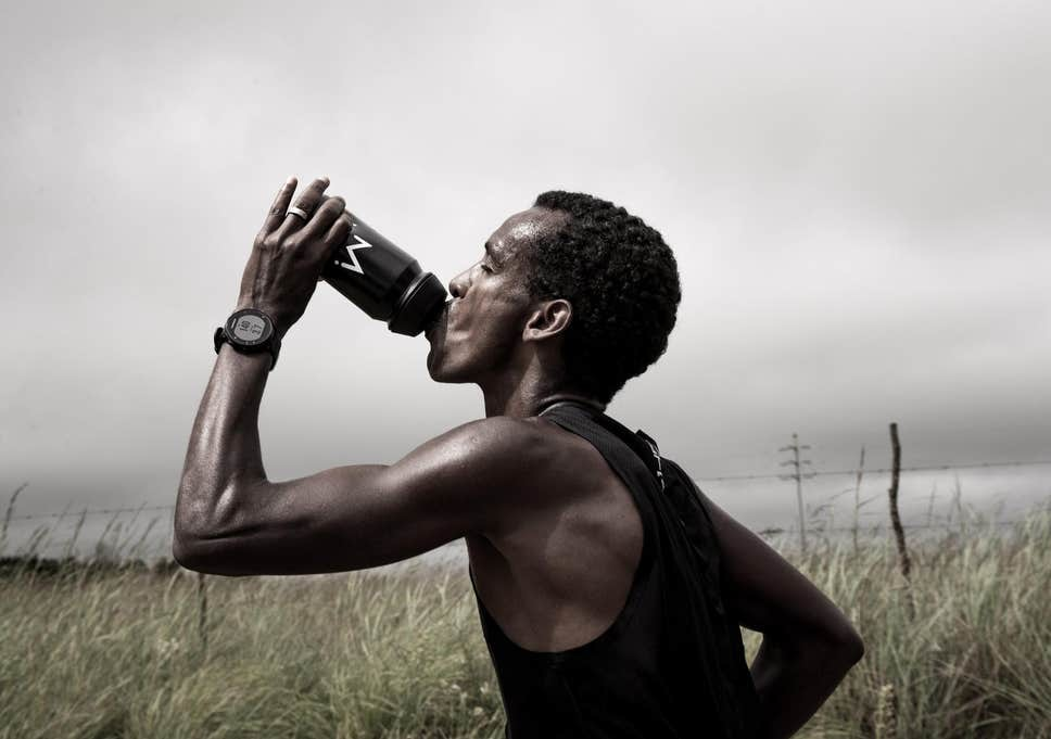 Electrolytes help reduce muscle cramps for runners