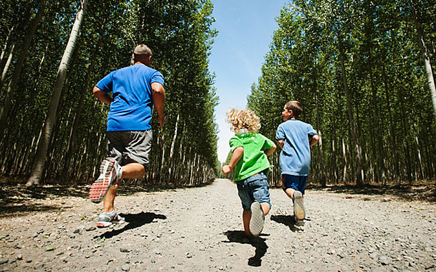 Parents should do everything possible to Inspire their kids to take up running or other form of exercise