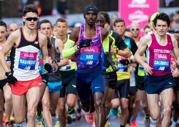 Mo Farah confirmed he will compete in the Vitality Big Half in London on March 1