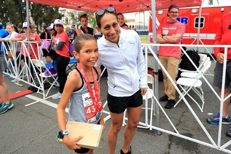 10-Year-Old Arielle Avina, Becomes Youngest Female To Win A Rock 'n' Roll Marathon Series 5K Event