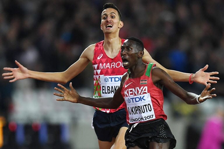 Kenyan steeplechase star was aiming for another global gold and a world record in 2020, but coronavirus outbreak has forced him to go back to the drawing board
