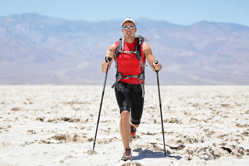 Using Poles can greatly add to a more efficient trail running experience