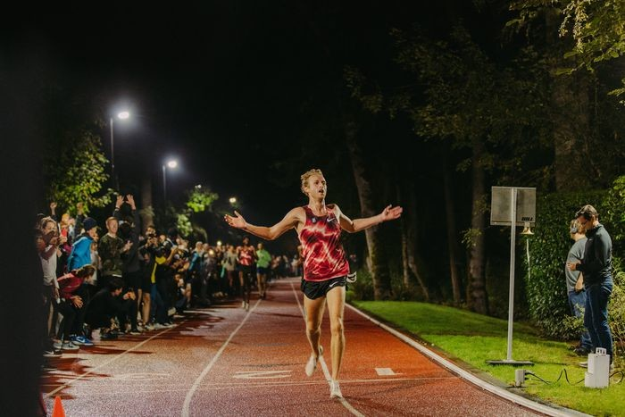 Bowerman Track Club runner Woody Kincaid Burns Up Nike's Famed Wooded Track with 12:58 PB for 5000 on Tuesday
