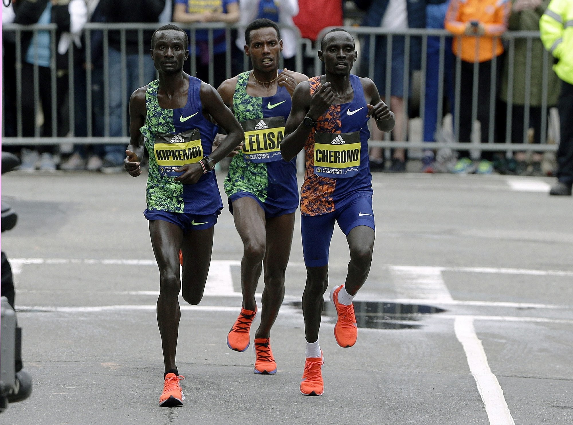 Reigning Boston Marathon champion Lawrence Cherono can´t wait to defend Boston crown next year