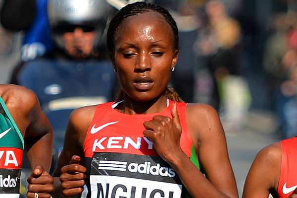 2016 World Half Marathon bronze medallist Mary Wacera will run the Houston half Marathon as preparation for her full marathon debut