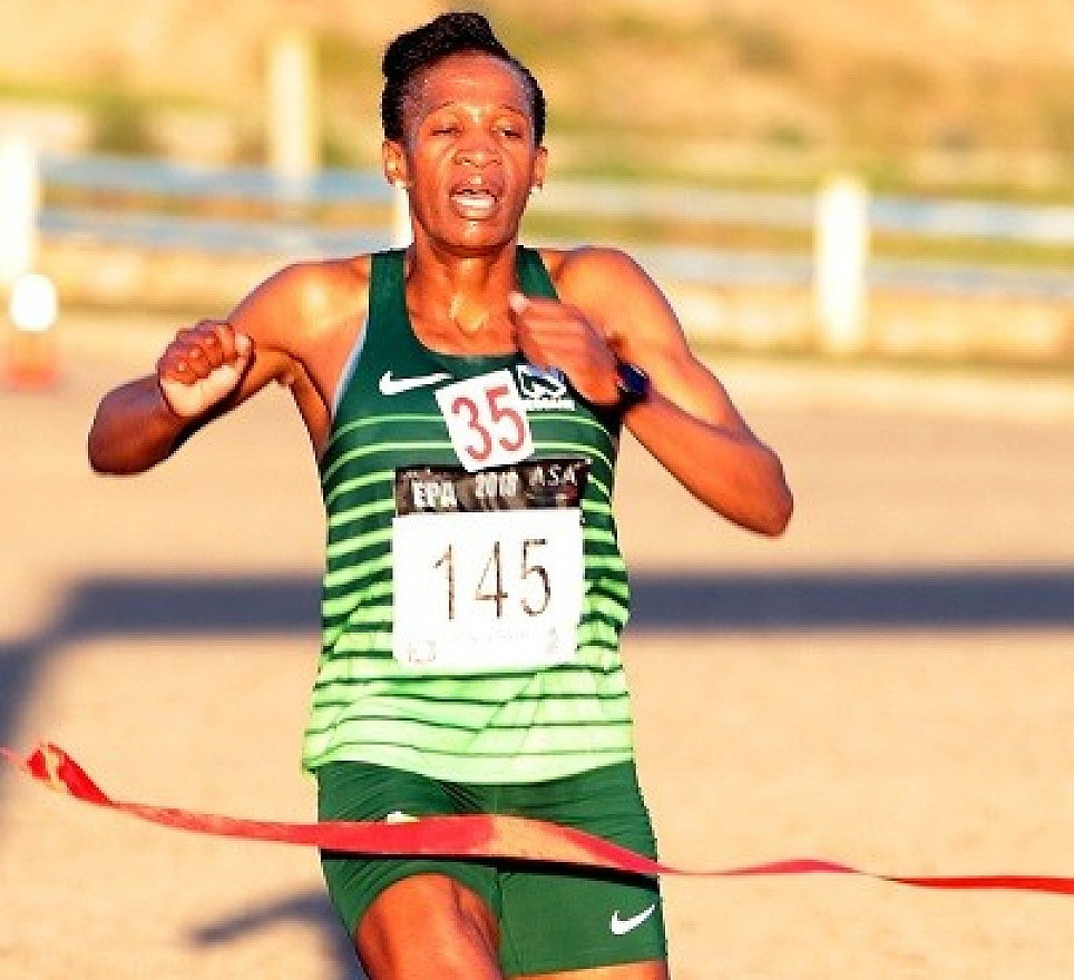 Ntombesintu Mfunzi, is focused now and wants to win the Cape Town Marathon