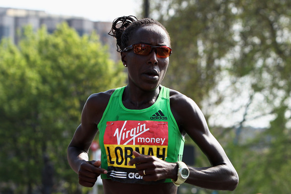 Kenyan-born Dutch distance runner Lornah Kiplagat was a master of the Half
