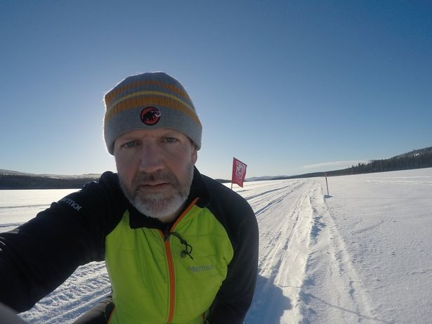 Paul Fosh from Monmouth will have to endure frostbite-threatening minus-30C temperatures in the arduous Yukon Arctic Ultra race