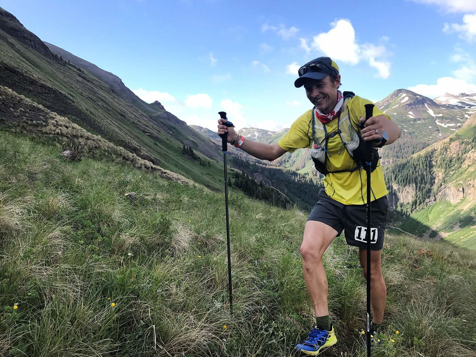 Canadian trail ultrarunner Adam Campbell  has withdrawn from the Hardrock 100