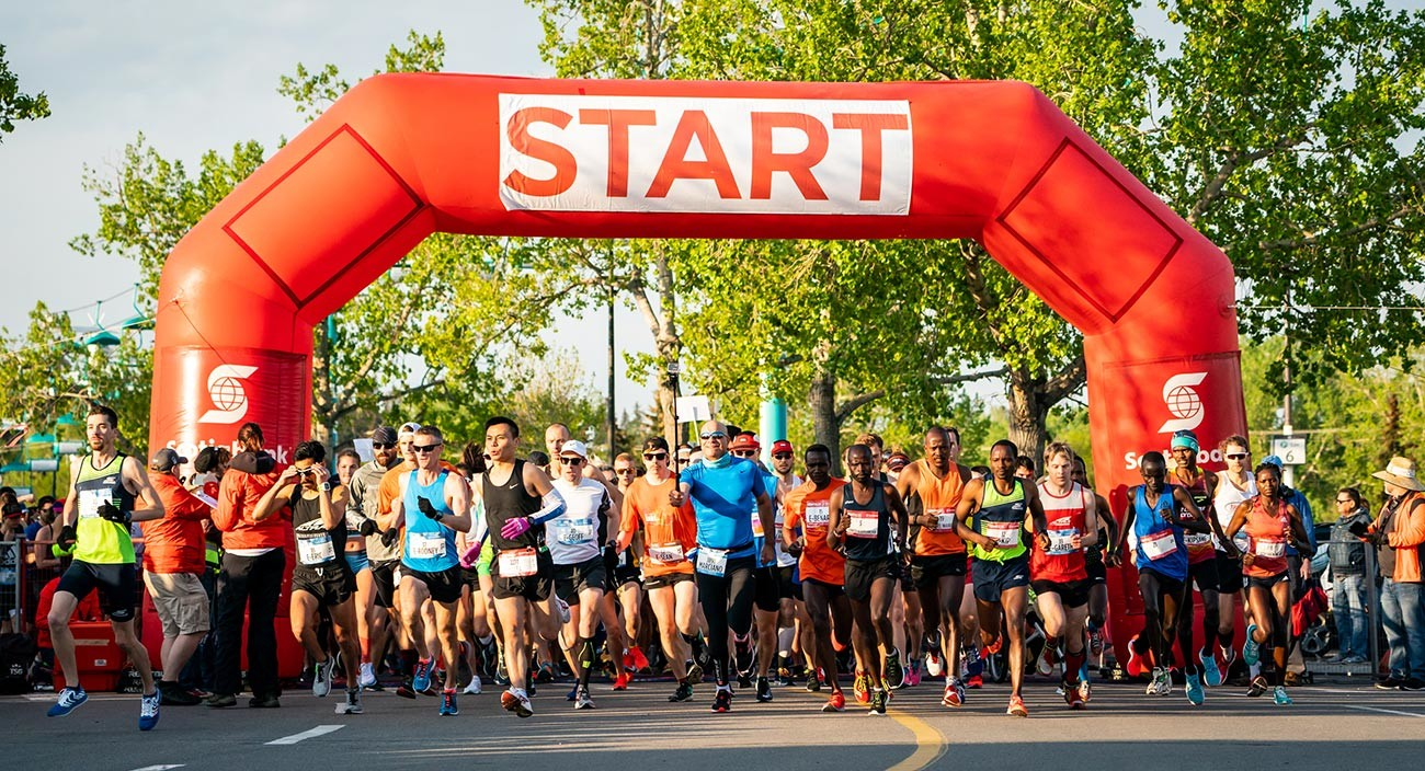The Calgary Marathon race weekend is going virtual for 2020