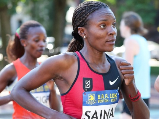 Kenyans Betsy Saina and Wilson Chebet are the latest entries for the Mainova Frankfurt Marathon