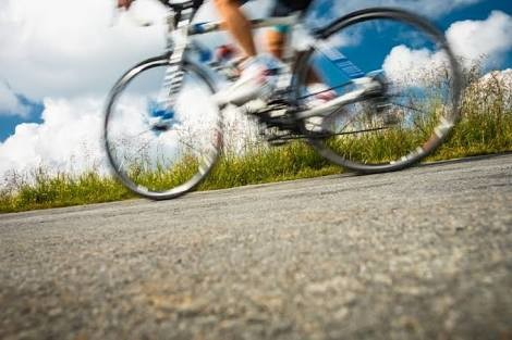 A cyclist in Australia purposely ran over Runners as he yelled out profanities