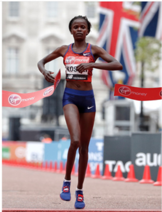 Kipchoge wins London Marathon for record 4th time while Brigid Kosgei wins the women's race as American women finish 6th and 12th