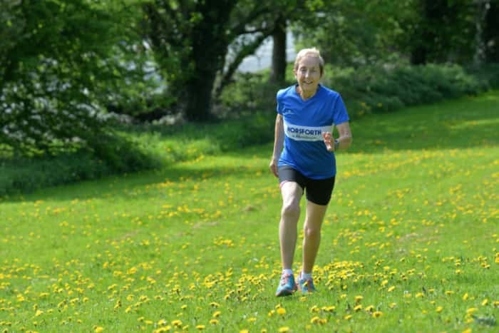 Grandmother, 76,  is going after her 56th marathon, her goal is to complete 100 Marathons
