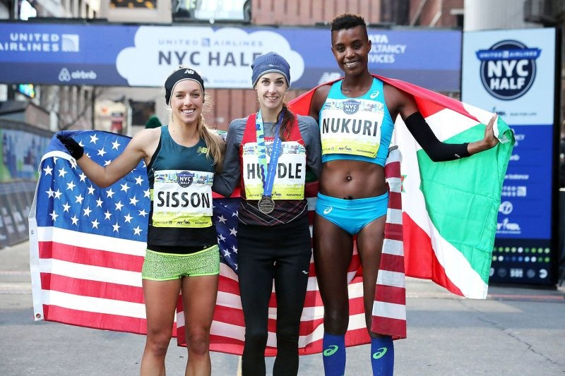 Allie Kieffer is back from Kenya and ready to Race the NYC Half