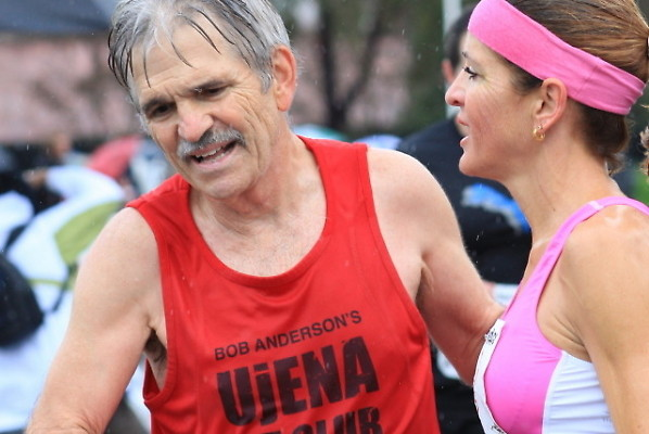 Bob Anderson's passion for running is contagious and some may even say, a bit fanatical