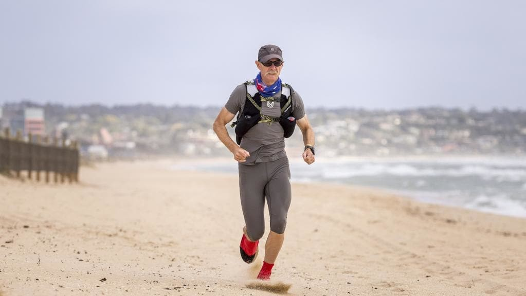 Shaun Bacon, 54, training for fifth Marathon des Sable in Sahara Desert