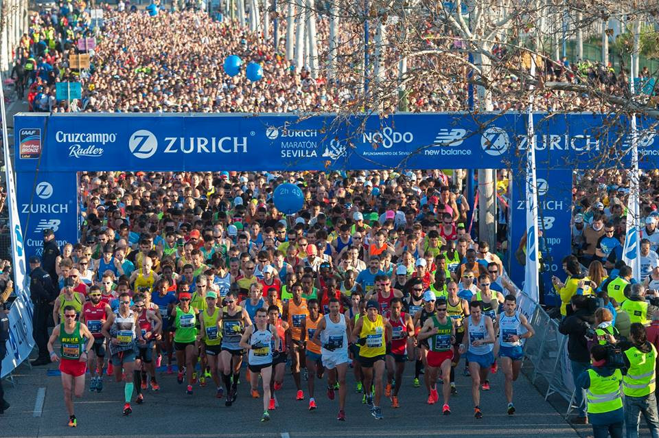 A strong field is expected at the 35th Zurich Maratón de Sevilla on Sunday