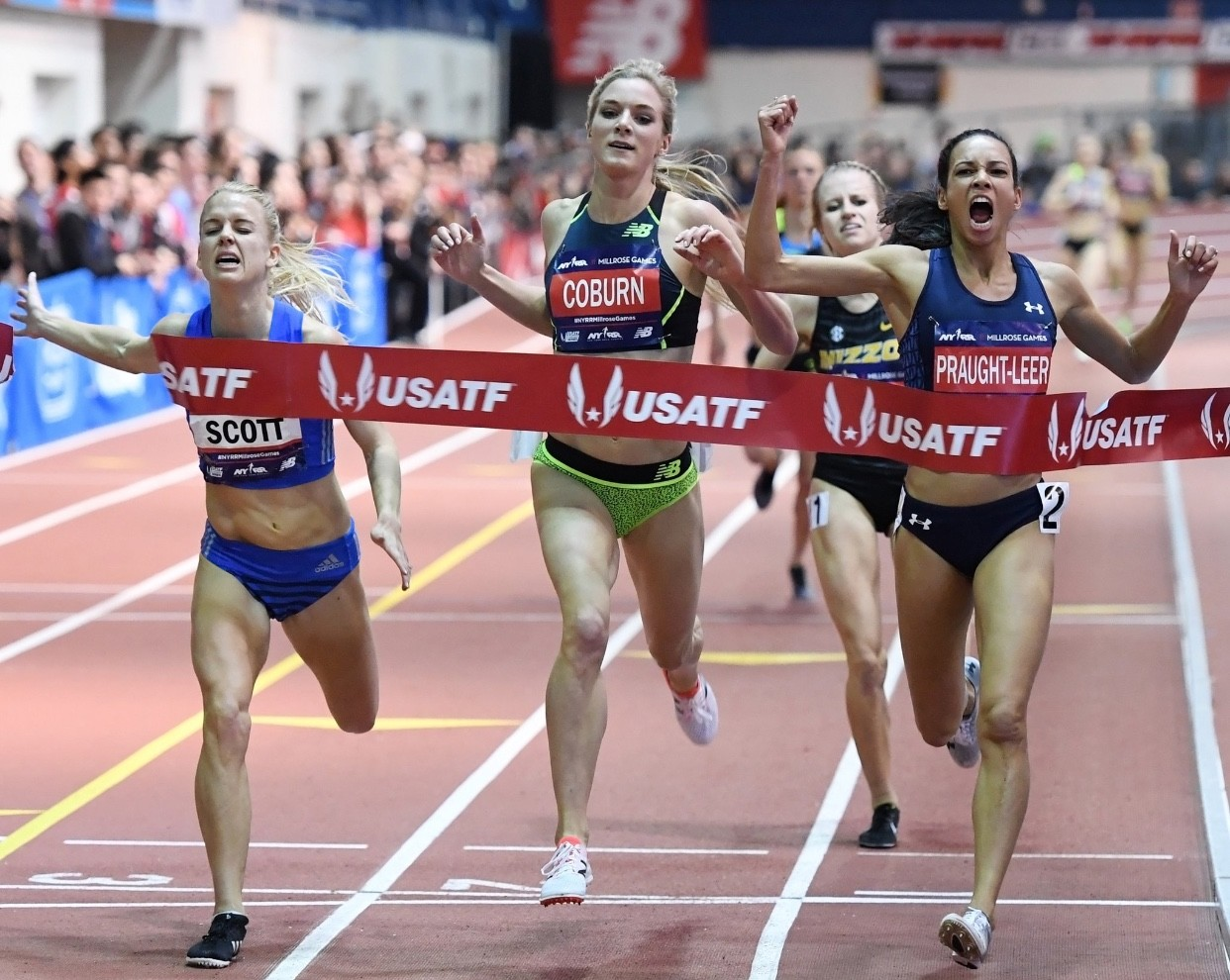 The 111th NYRR Millrose Games were more exciting than Ever
