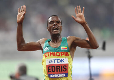 Ethiopia's Muktar Edris, Repeats As 5,000 World Champion
