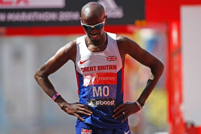 Mo Farah explains over taking supplement