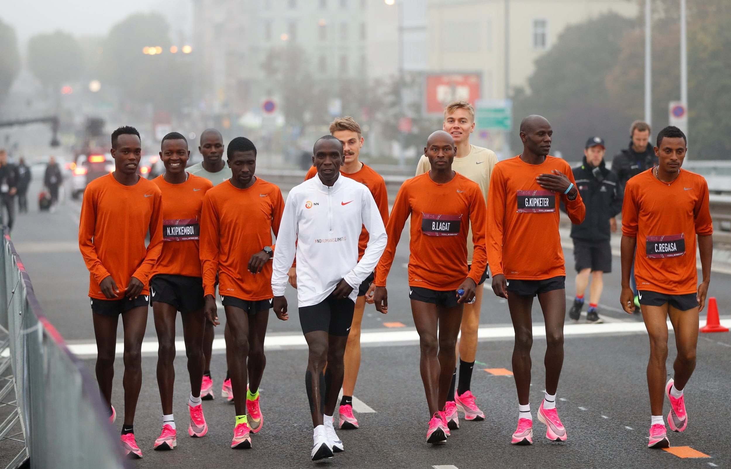 Eliud Kipchoge says that Nike shoes do not give runners an unfair advantage