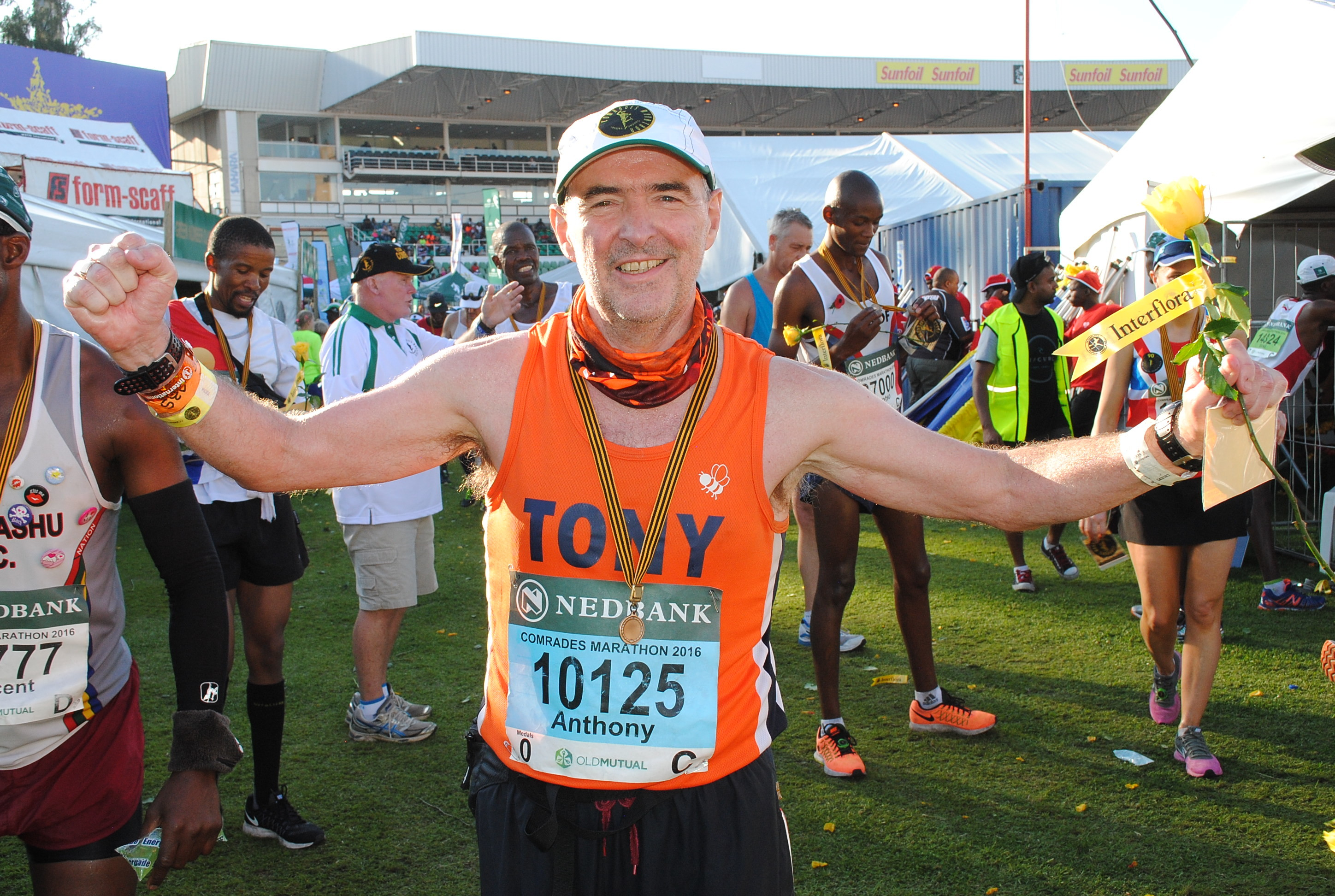 Marathoner Tony Collier did not know he had terminal Cancer