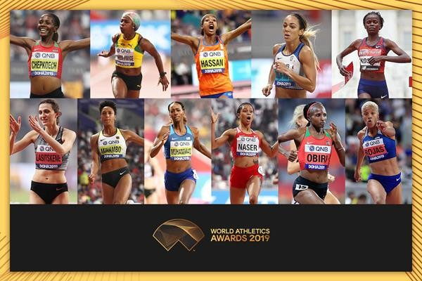 NOMINEES ANNOUNCED FOR FEMALE WORLD ATHLETE OF THE YEAR 2019