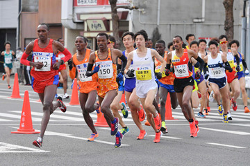 Kenyans Double at Kagawa Marugame Half Marathon today