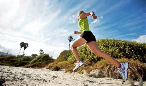 Running on sand can improve your performance