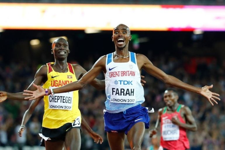 Mo Farah says he does miss the track and is seriously thinking about returning but now his focus is on the half this weekend and the London Marathon in April