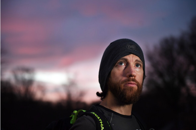 Michael Wardian set out for a virtual ultra marathon. He kept running for 2½ days.