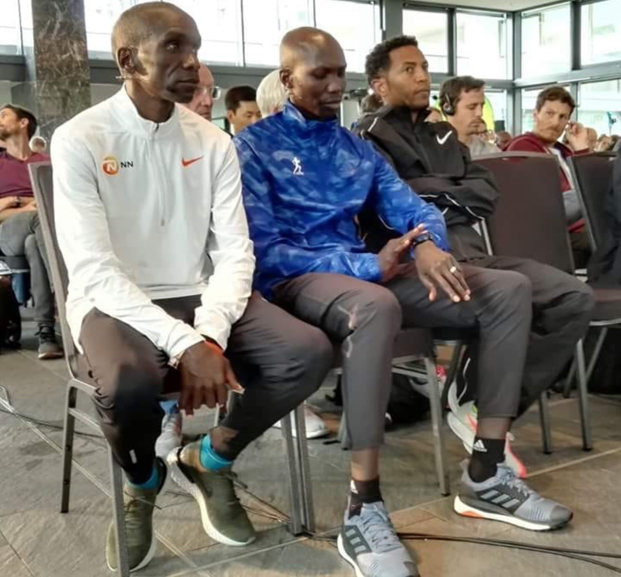 Eliud Kipchoge and Wilson Kipsang are set to battle and maybe set a world record in just a few hours in Berlin
