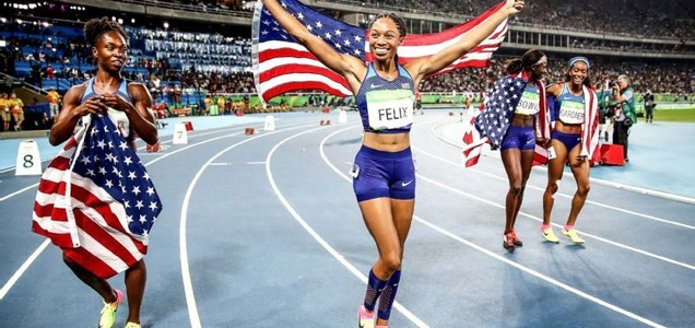 US Olympic star Allyson Felix gave birth to her daughter November 28 who is now doing fine