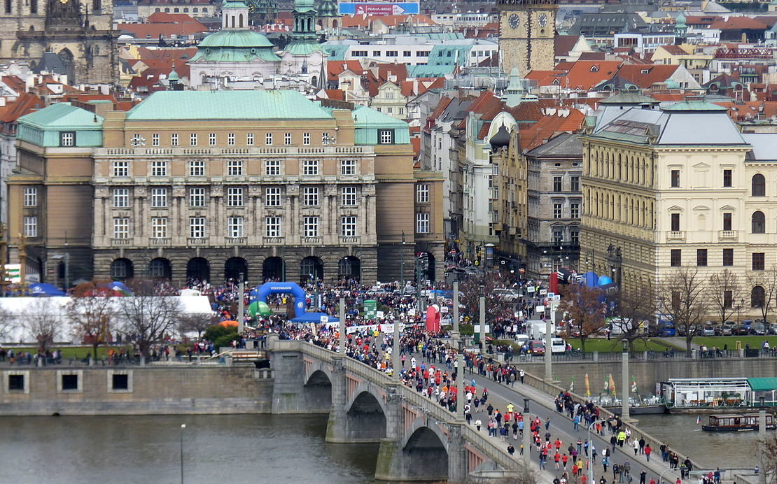 The Prague Half Marathon course is notoriously fast with a World Record Last Year