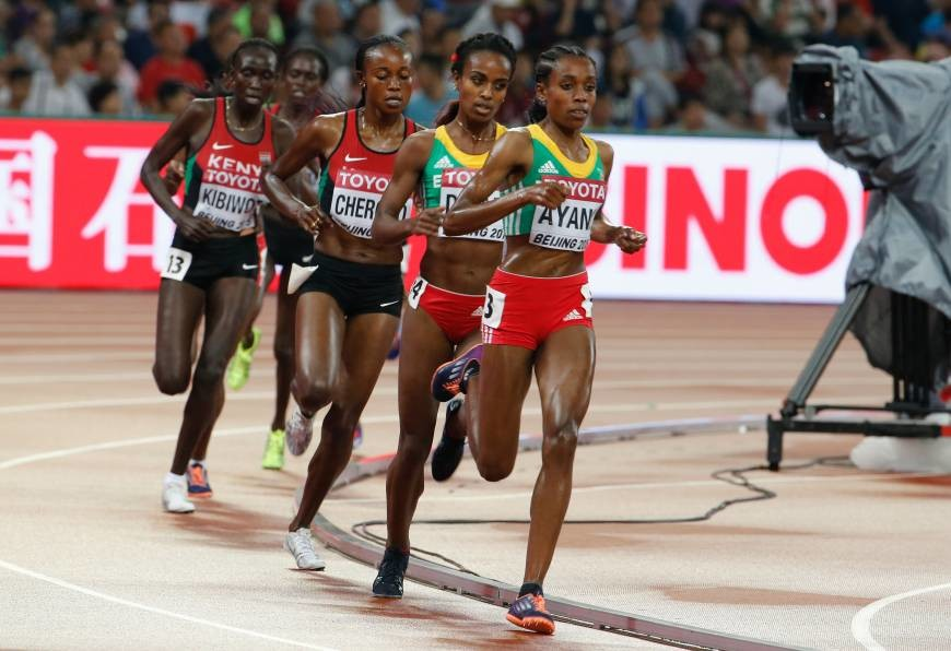 Ethiopia´s Almaz Ayana hopes to be successful in Doha on September 28