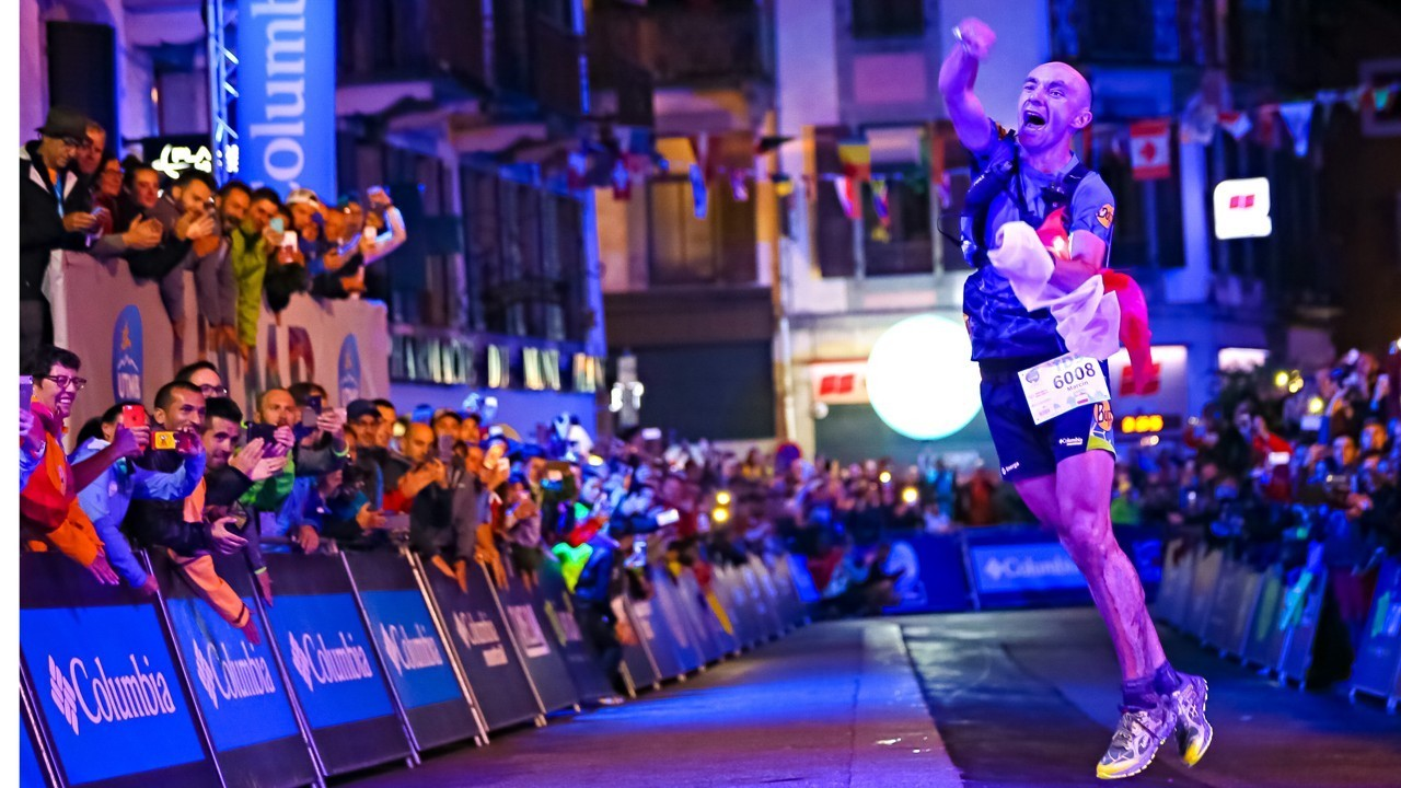 Poland's Marcin Swierc took victory last night after a dramatic finish at the UTMB Festival