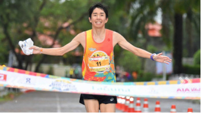 Filipino and Japanese runners shine at the 2019 Laguna Phuket Marathon