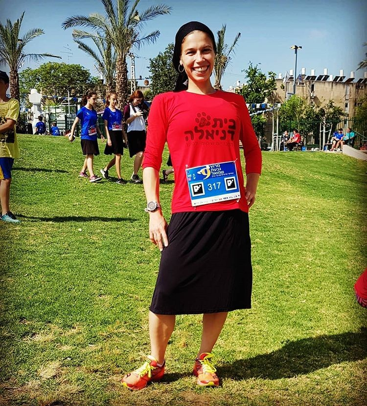 Beatie Deutsch became the first Haredi woman to win an international half marathon competition