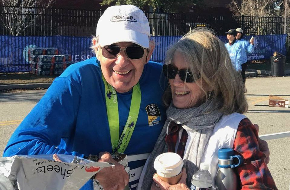 It was my Last Marathon until the next one says Art Zimmerman