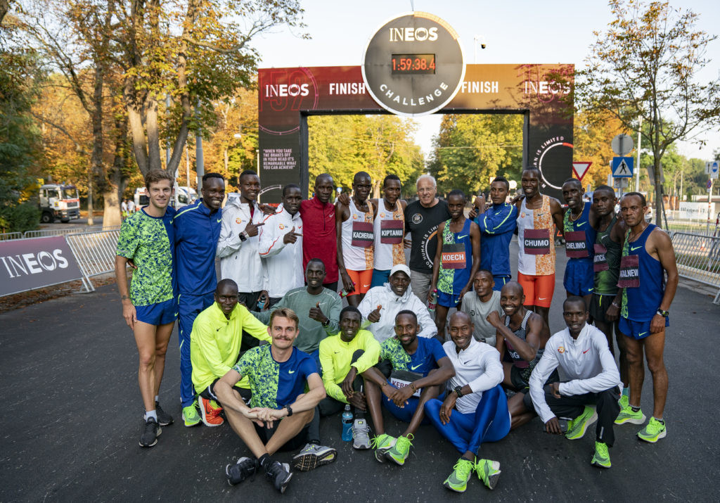 Viewers around the world will be able to watch Eliud Kipchoge's sub-2 marathon attempt on YouTube