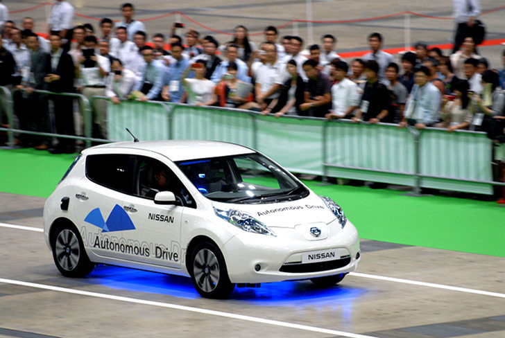Japan hopes to have self-driving car service on the road for the 2020 Olympics