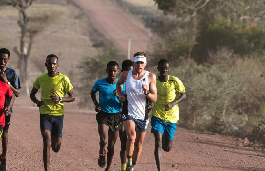 How high-tempo training with elite Ethiopians helped Briton Tom Evans to place third at the Western States 100 this year
