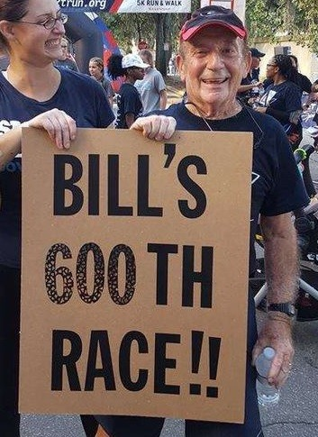 88-year-old Bill Briggs ran his first race when he was 49 and can't stop