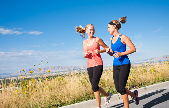 Running slow can eventually help you run faster!