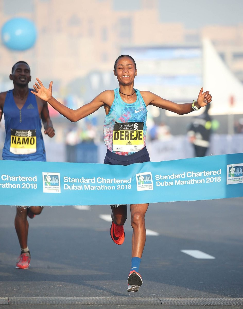 Haftamnesh Tesfay is expected to attack the 2:20 mark at Frankfurt Marathon